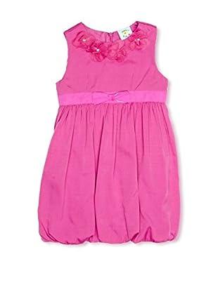 uttam kids Vestido Draped Party (Rosa)