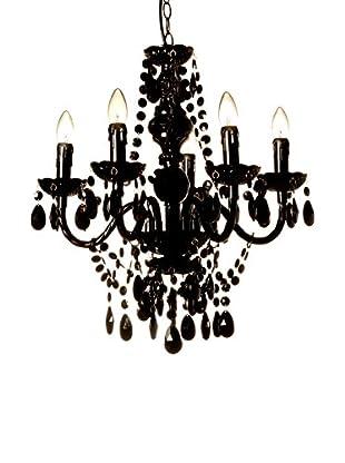 Tomasucci Lámpara De Araña Jewel Negro