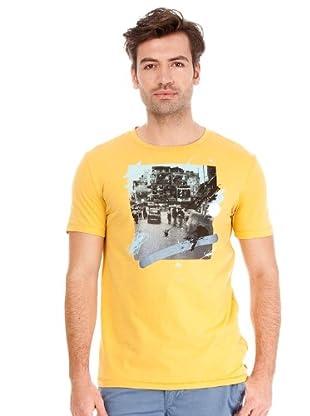 Hugo Boss Camiseta Ton (mostaza)