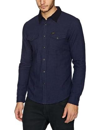 Lee Camisa Gulf (Azul oscuro)