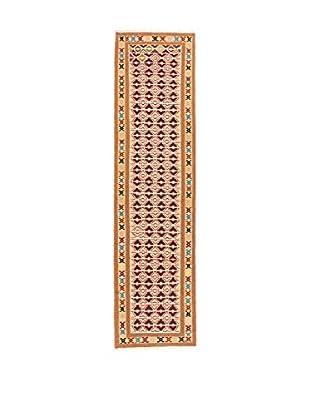 QURAMA Teppich Persian Senneh beige/mehrfarbig
