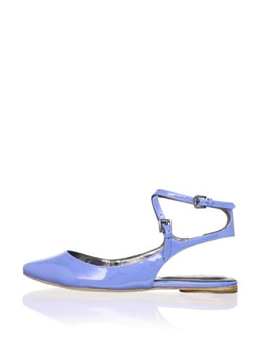 Belle by Sigerson Morrison Women's Verena Flat (Light Blue)