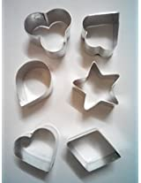 Cakeware Cookie Cutter Cake Cutter Muffin Cutter With 6 Shapes
