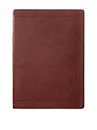 Life Co., Ltd. Sunny Gold Ruled B5 Notebook, Maroon