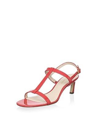 Delman Women's Gita Sandal (Coral)