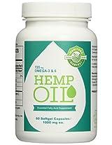 Manitoba Harvest Hemp Seed Oil Capsules - 60 Capsules