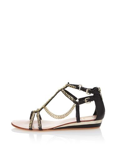 Dolce Vita Women's Idra Ankle-Strap Sandal (Black)