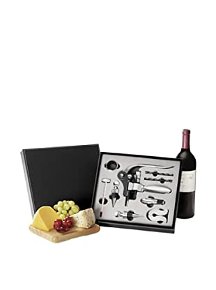 Wolfgang Puck 10-Piece Sommelier Wine Set (Black)