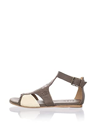Fiel Women's Syke Mayan Woven Sandal (Putty)