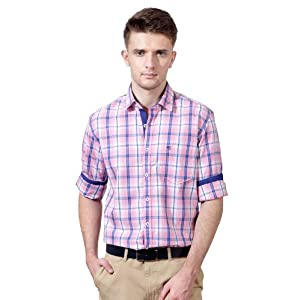Business Casual Checkered Full Sleeved Shirt