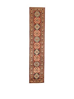Design Community By Loomier Teppich Ozbeki Ghazni Extra rot/beige 58 x 295 cm