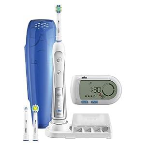 【クリックで詳細表示】ブラウン オーラルB 電動歯ブラシ デンタプライド5000 歯磨きナビ付 D345355X