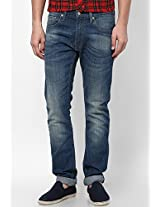Blue Skinny Fit Jeans (65504) Levi's