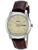 Timex Analog Beige Dial Men's Watch - T2M803