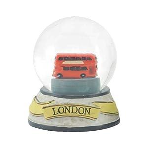 【クリックで詳細表示】EIN(アイン) スノードーム S ロンドンバス【4101-15009】
