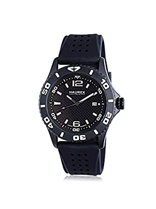 Haurex Men's 3N500USN Factor Black Rubber Watch