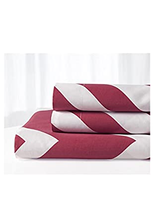 Palace Linens Chevron Duvet Set