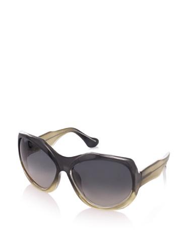 MARNI Women's MA101S Sunglasses, Shaded Grey/Yellow
