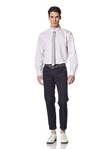 Brent Wilson The Basics Men's Tailored Slim Leg Pant (Navy)