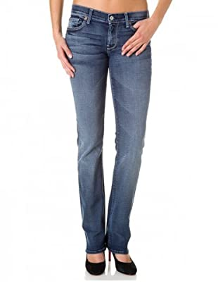 7 for all Mankind 5-Pocket Jeans Capistrano Straight Leg (Blau)