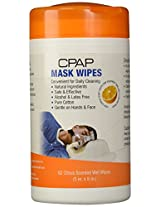 Contour Products CPAP Mask Wipes, Citrus Scent, 62 Wipes