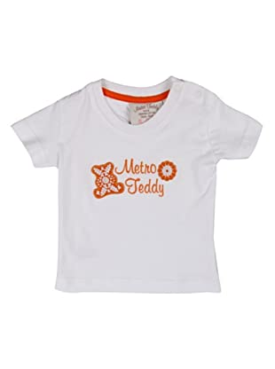 Metrokids Camiseta Niña Chengdu (Blanco)