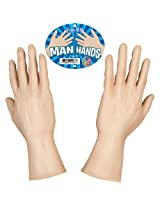 "Accoutrements 14"" Man Hands Toy"