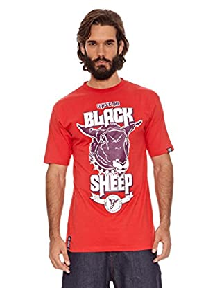 Grimey Wear Camiseta Black Sheep (Rojo)