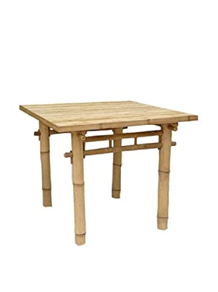 ZEW, Inc. Outdoor Bamboo Square Table