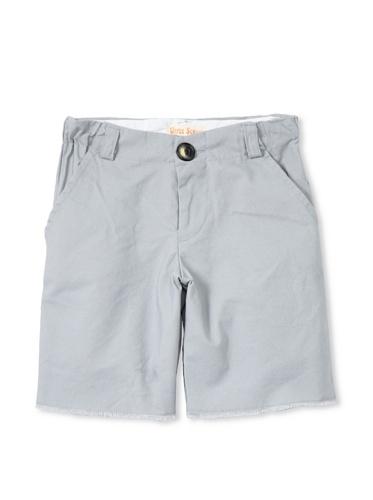 Upper School Boy's Cut-Off Shorts (Grey)