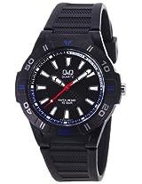 Q&Q Analog Black Dial Men's Watch - GW36J009Y