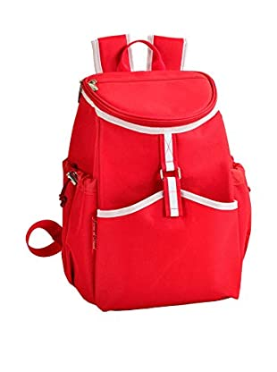 Picnic at Ascot Cooler Backpack, Red