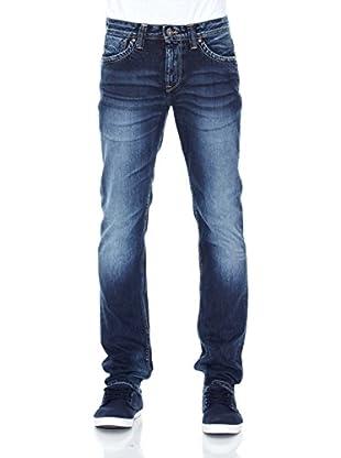 Pepe Jeans London Vaquero Cash Zip (Azul Medio)