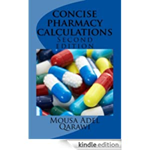 concise pharmacy calculations: for  pharmacists