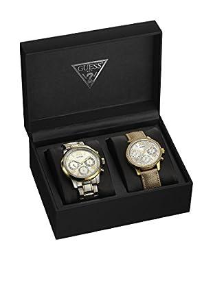 Guess Uhr mit japanischem Mechanikuhrwerk Unisex W0744P1 36.5 mm