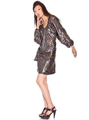 Custo Vestido Kefy (plata)