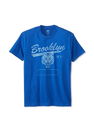 Brookline Men's Brooklyn Script Tee (Royal)
