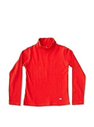 New Caro Camiseta Manga Larga Alto Unisex - Niño (Rojo)