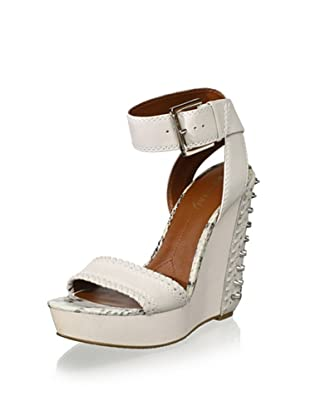 Boutique 9 Women's Gwendolyn Wedge Sandal (Off white)
