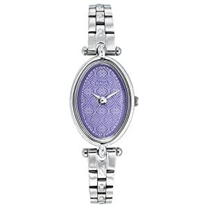 Titan Raga Analog Purple Dial Women's Watch - ND2418SM01