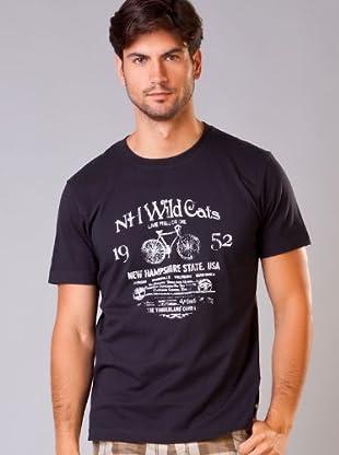 Timberland Camiseta Wild Cats (Azul Marino)