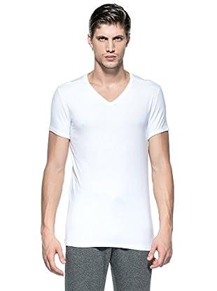 Versace Camiseta V (Blanco)