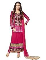 atisundar beauteous Pink Straight Cut - 6776_14_5135