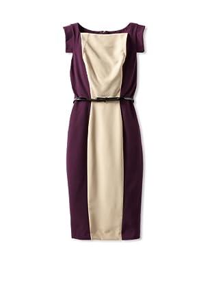 Single Women's The Skinny Victoria Dress (eggplant)