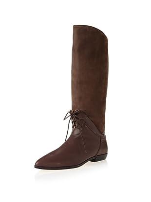 Fiel Women's Amherst Hybrid Long Boot (Chocolate)