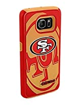 Forever Collectibles - Licensed NFL Cell Phone Case for Samsung Galaxy S6 - Retail Packaging - San Francisco 49ers