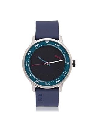 Puma Men's PU103412005 Blue Stainless Steel Watch