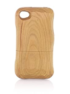 Real Wood iPhone 4/4S Case, Flat Knife, Cherry