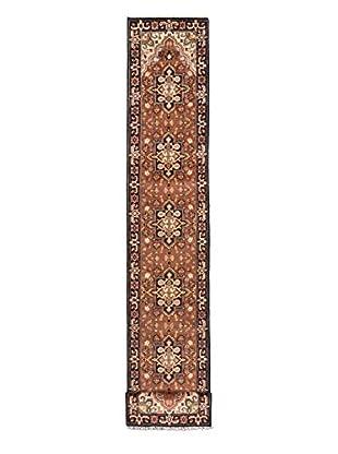 eCarpet Gallery One-of-a-Kind Hand-Knotted Royal Heriz Rug, Burned Orange, 2' 6
