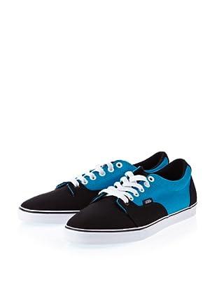 Vans Kress VOYG5EO Damen Sneaker (Blau ((2 Tone) black/blue))